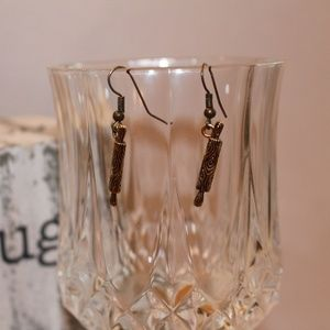 Earrings made by IslaRaqSo Rolling Pin